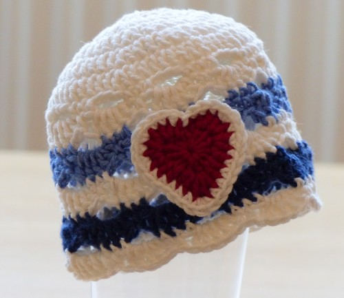 Nautical Baby Hat - Free Pattern