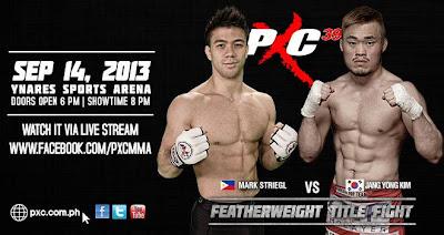 pxc-39-Mark Striegl vs Jang Yong Kim