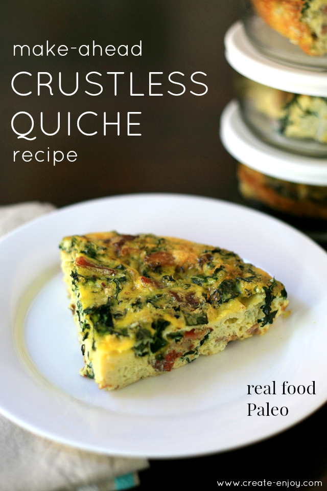 Weekday breakfast solution crustless quiche recipe create enjoy dont have to anything but grab them and put them in my lunch bag each morning i eat mine cold but you could warm in a toaster oven or microwave too forumfinder Gallery