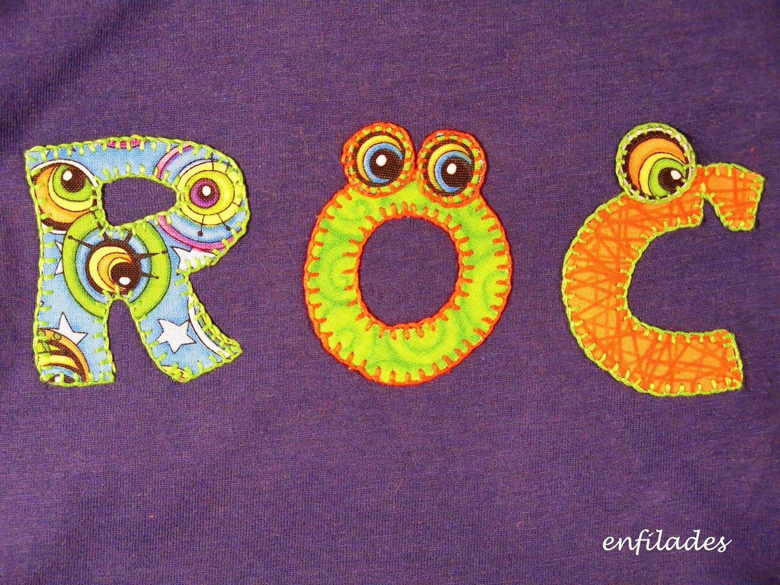 samarreta divertida Roc - web enfilades.cat fet a mà