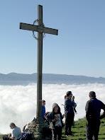 La Creu dalt del Turó del Castell de Gurb