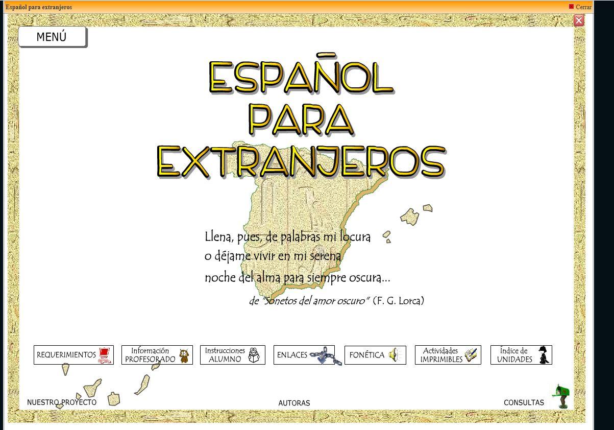 ESPAÑOL PARA EXTRANJERO