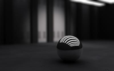 black desktop background