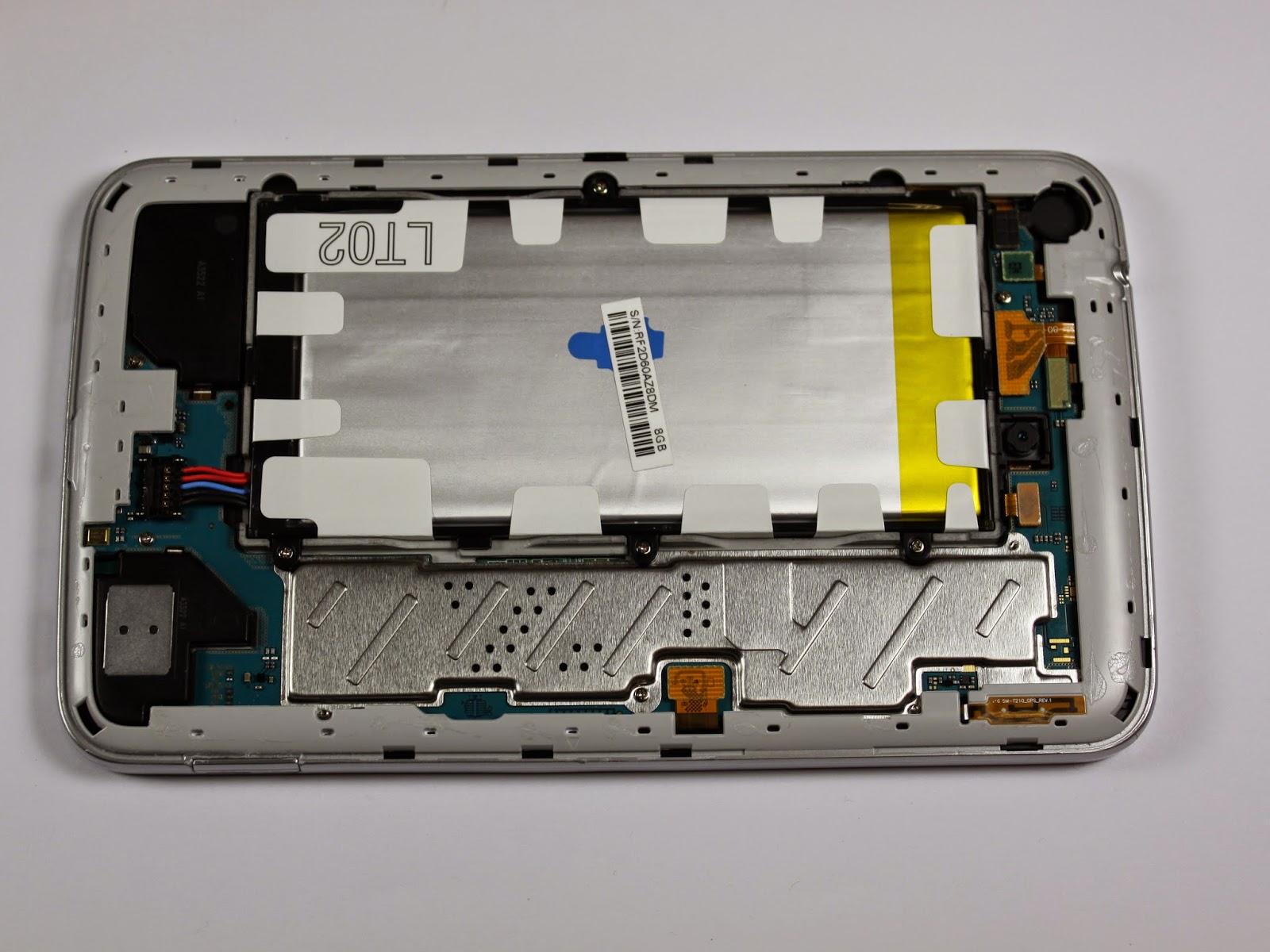 Замена аккумулятора в планшете самсунг своими руками