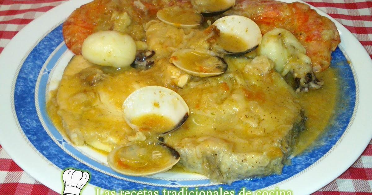 Receta de zarzuela de pescado y marisco recetas de for Canelones de pescado y marisco