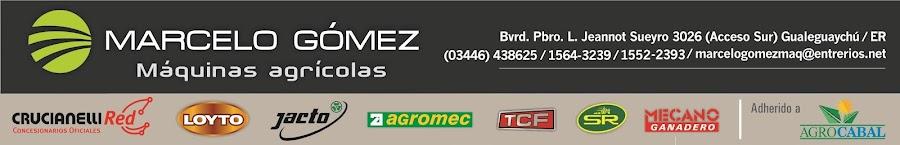 Marcelo Gómez - Máquinas agrícolas