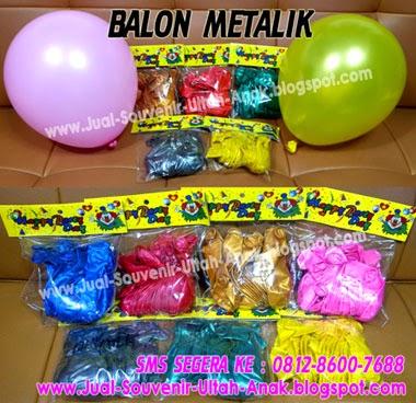 Harga Balon Metalik : Rp. 25.000,-/pax ( 1 pax isi 20pcs, 1 pax 1 ...