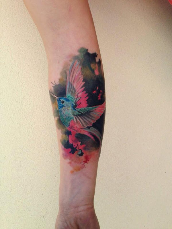 Hummingbird Tattoo