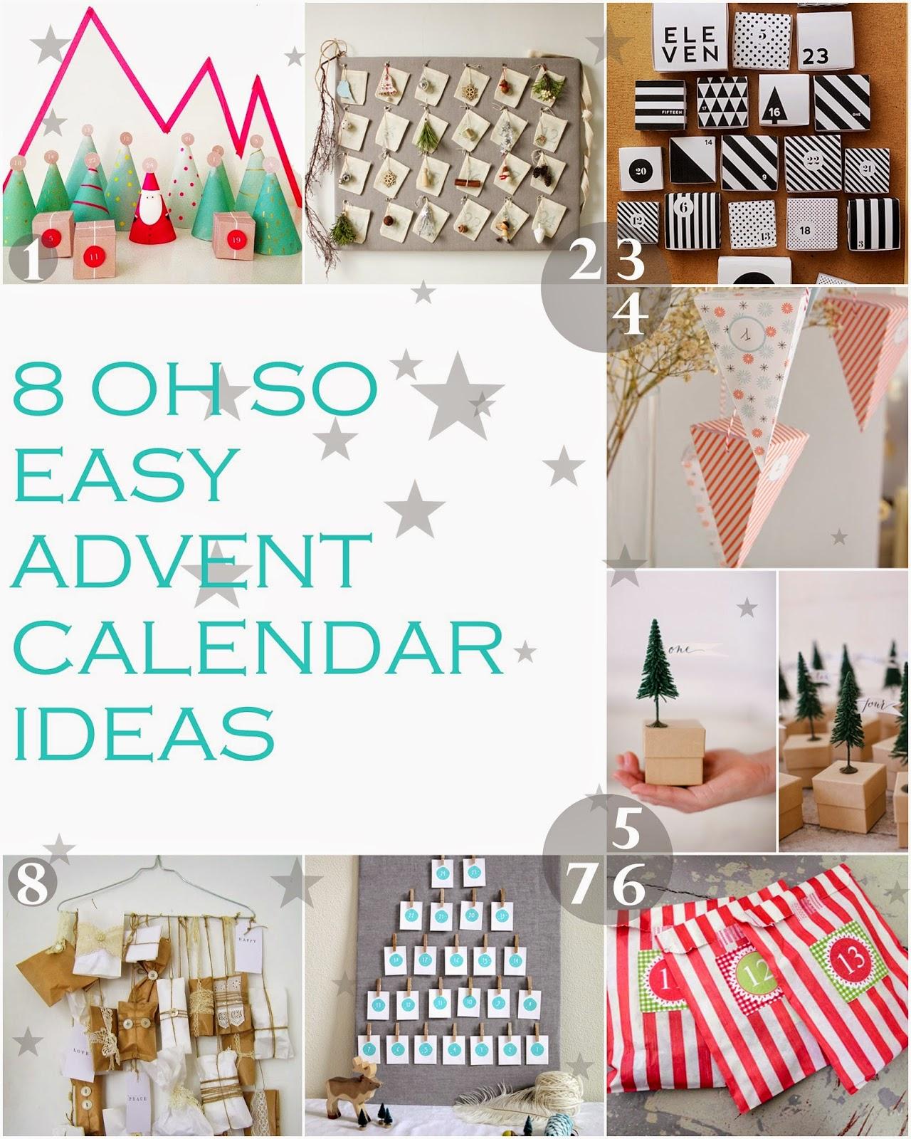 Easy calendars roho4senses curious and catcat diy advent calendars eight easy ideas solutioingenieria Image collections