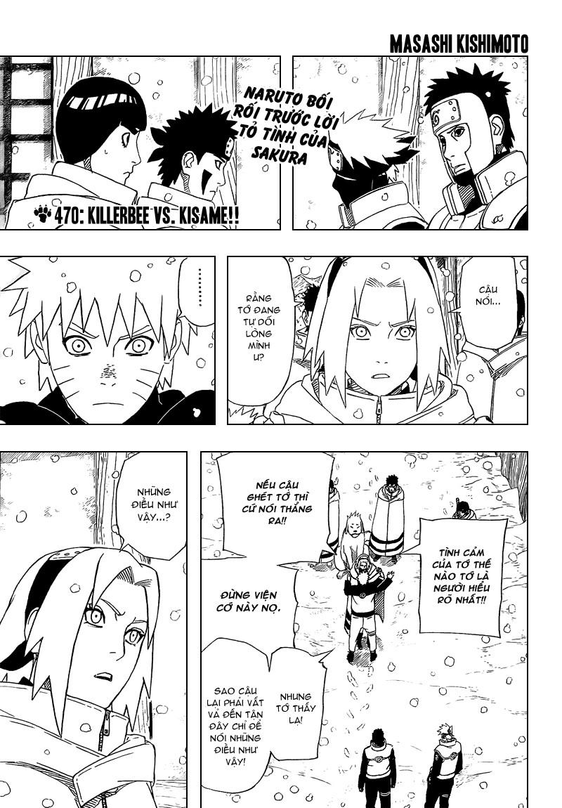 Naruto chap 470 Trang 1 - Mangak.info