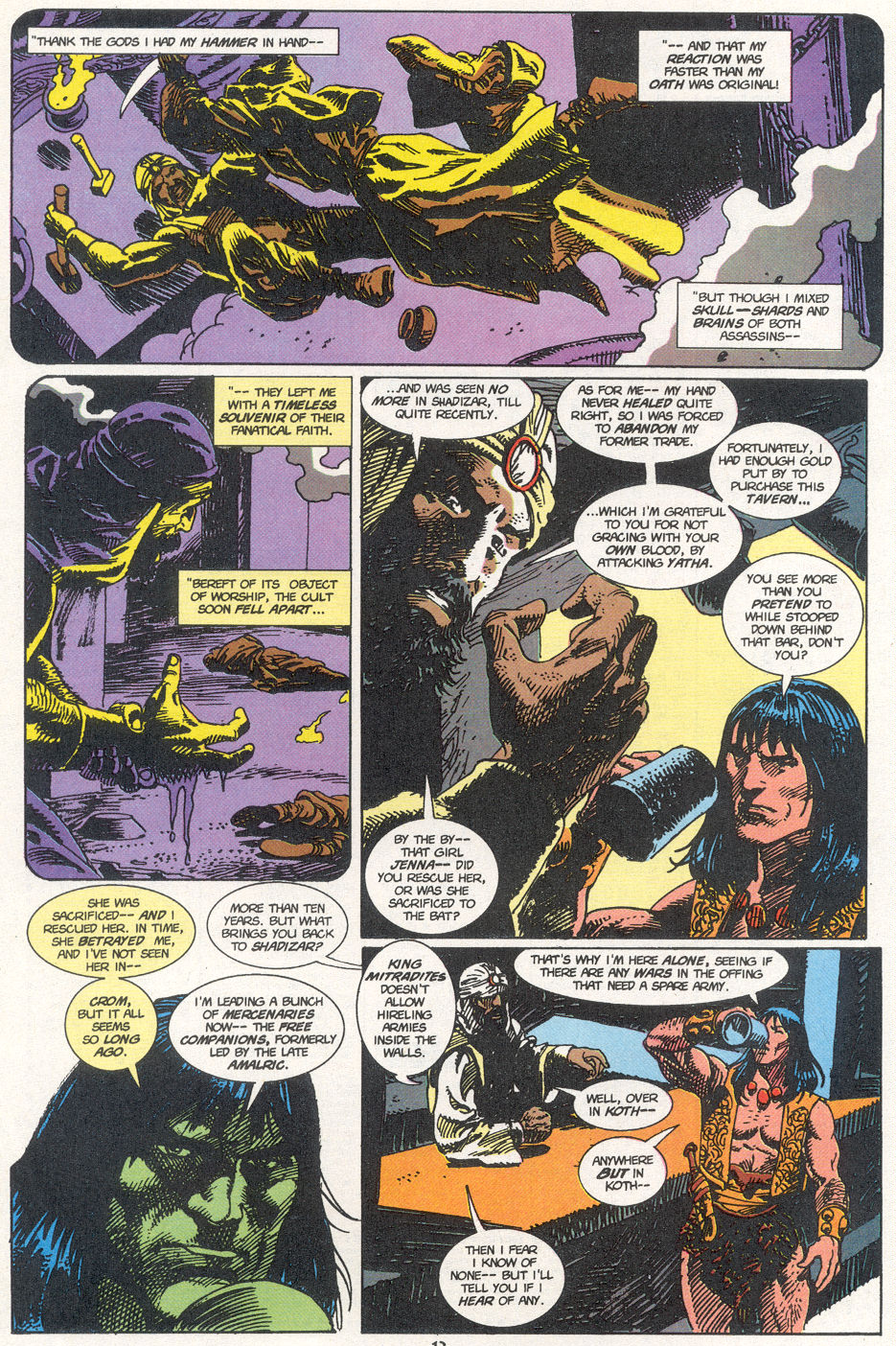 Conan the Barbarian (1970) Issue #273 #285 - English 9