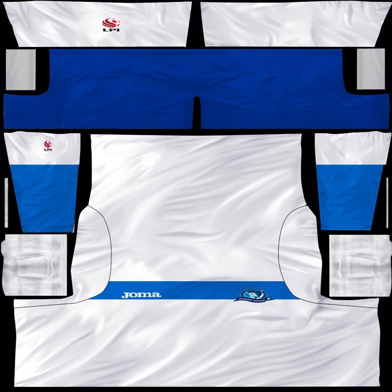 FIFA 08 KIT: Manado United fifa 08 kit