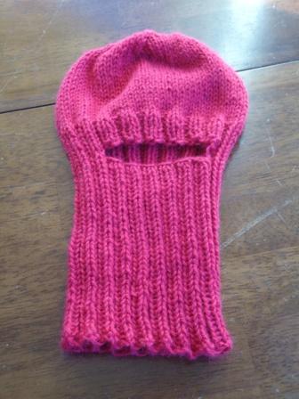 Balaclava Knitting Pattern 2 Needles : Klose Knit: Balaclava for Kids