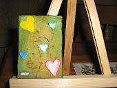 Heart atc card