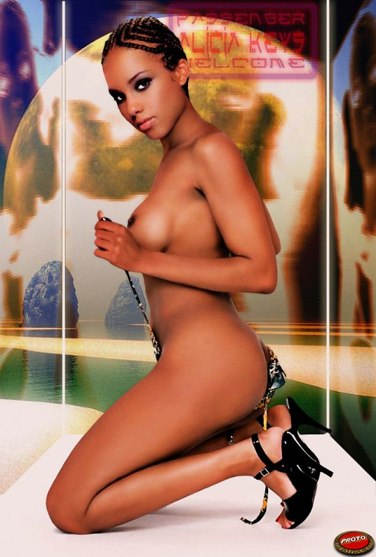 Alicia Keys Goes Nude for a Good Cause Entertainment Tonight
