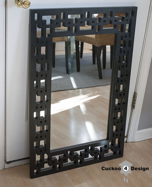 black Lowes Gardner mirror
