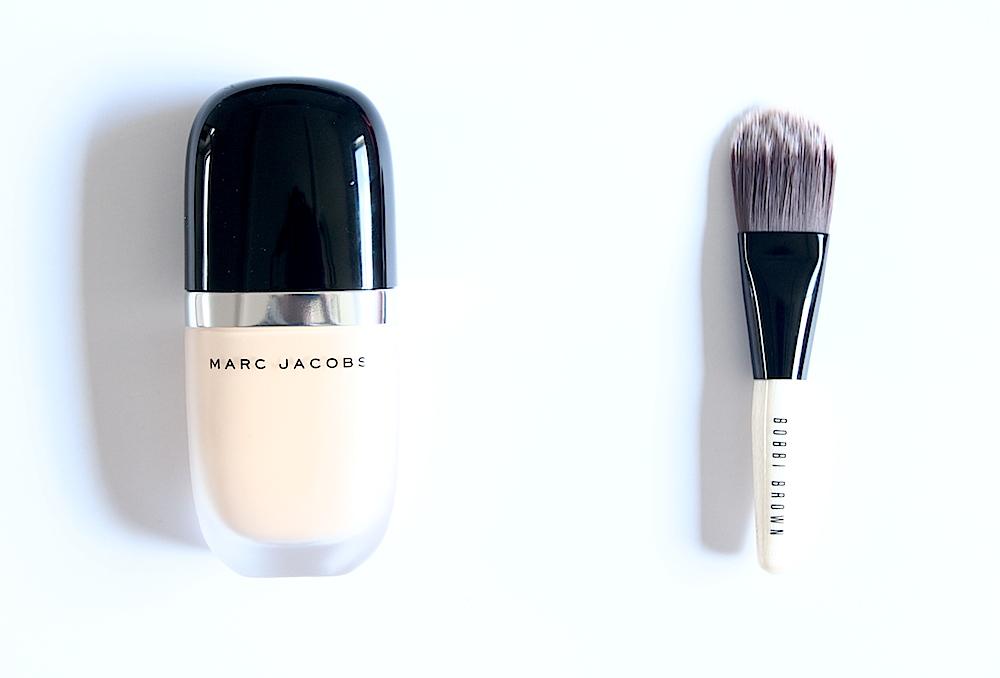 marc jacobs beauty maquillage fond de teint avis test avant après