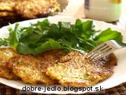 Zelerovo-cuketové placky - recept