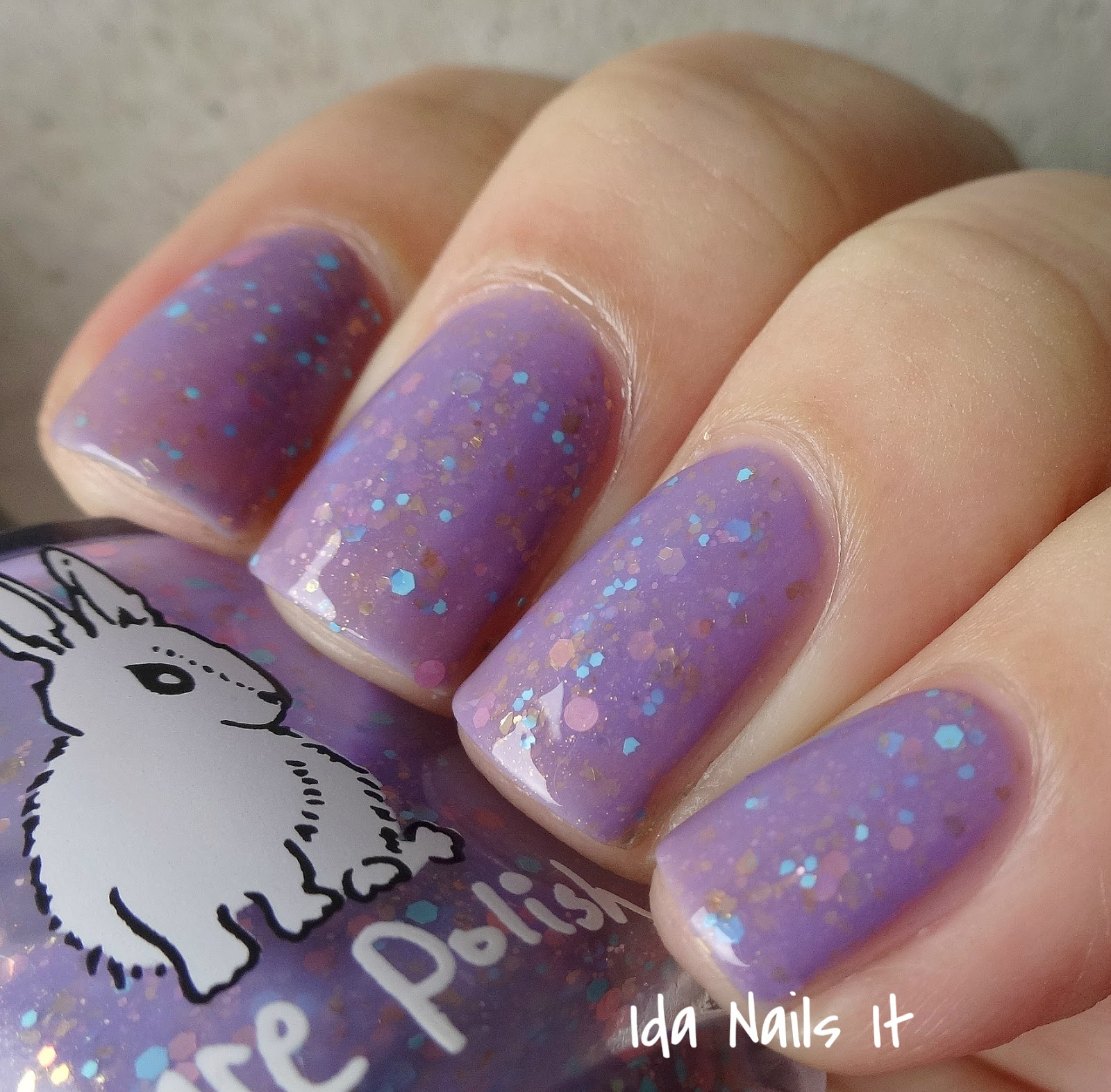 Sation Cotton Candy By Fingernail Polish: Ida Nails It: Hare Polish Cotton Candy Crush From Febuary