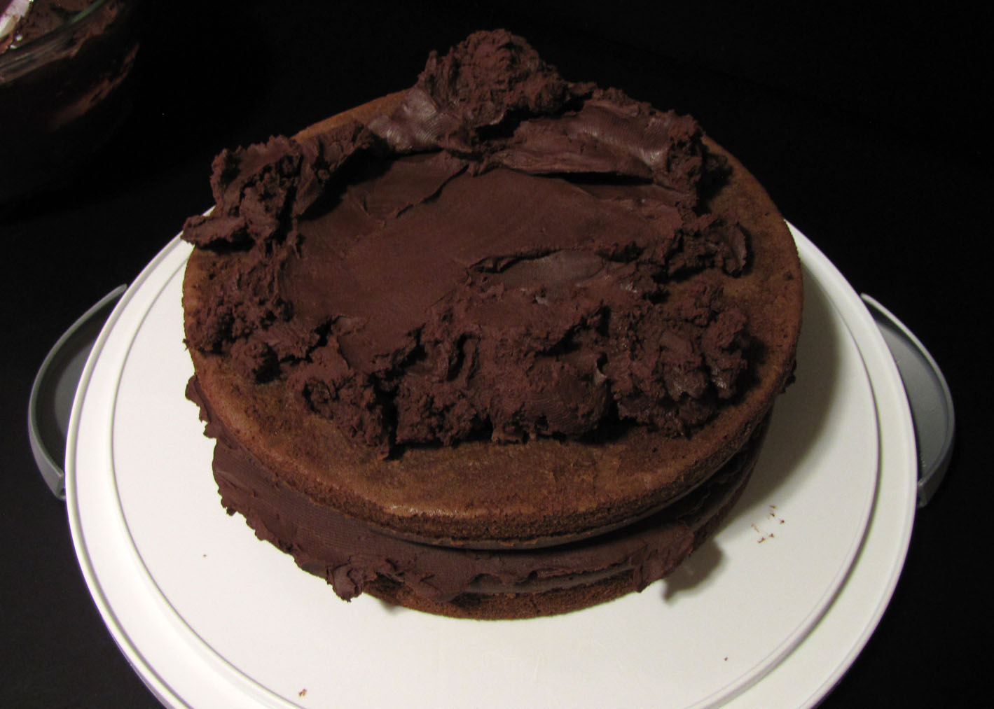... Like Food in Here: Chocolate Stout Layer Cake with Chocolate Frosting