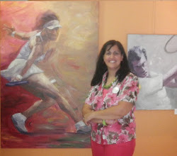 Εύη Παντελέων, ζωγράφος / Evi Panteleon, painter