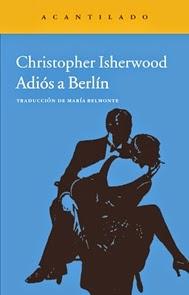 Adiós a Berlín - Portada