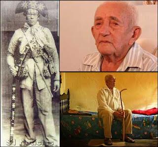 Morreu aos 98 anos 'candeeiro', o último dos cangaceiros de lampião'