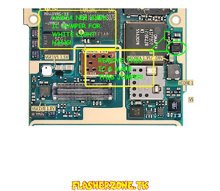Nokia n80 white lcd  jumper diagram hardware solution
