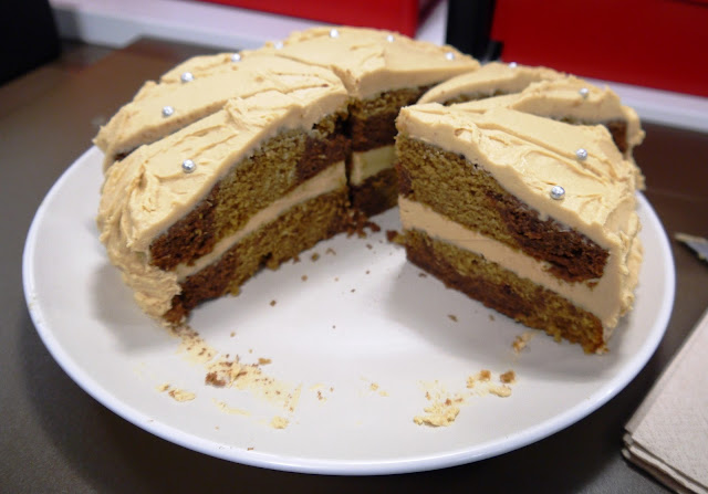 Clandestine Cake Club Chocolate Marble Cake