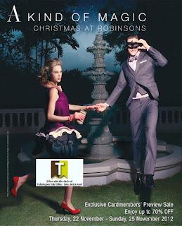 ROBINSONS Christmas Sale 2012