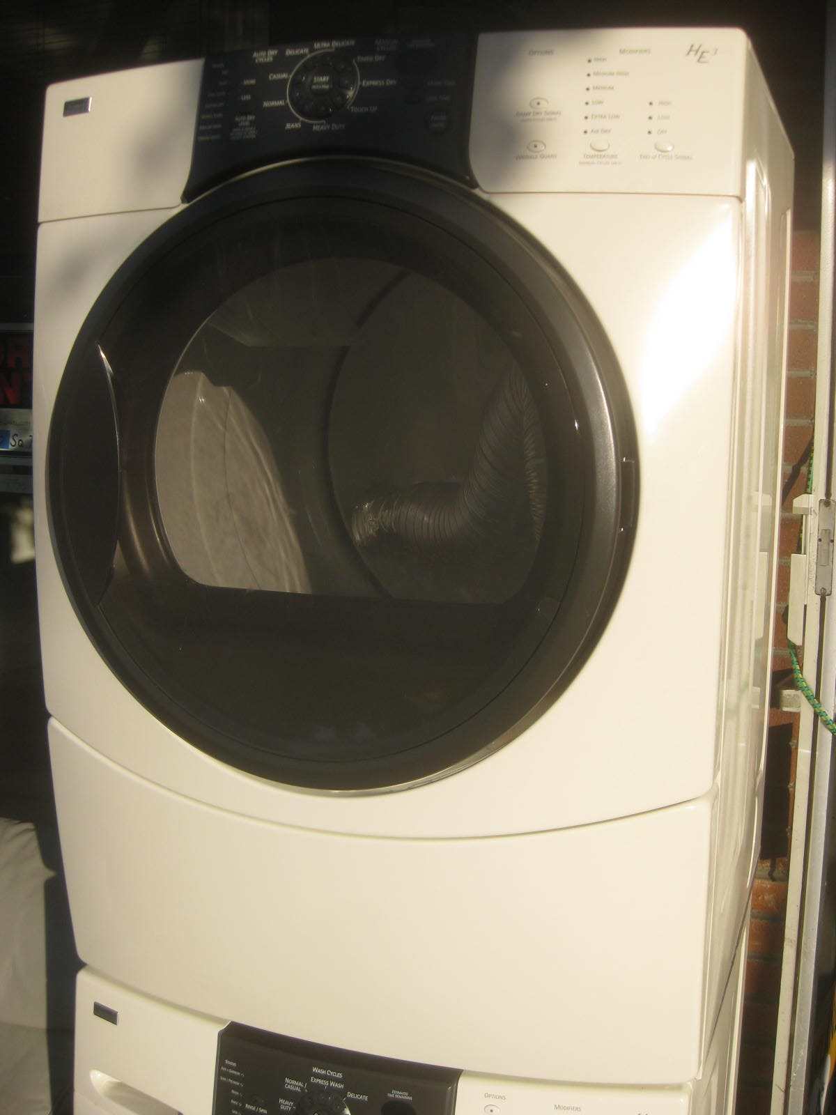 Kenmore elite washer troubleshooting ue for Kenmore washer