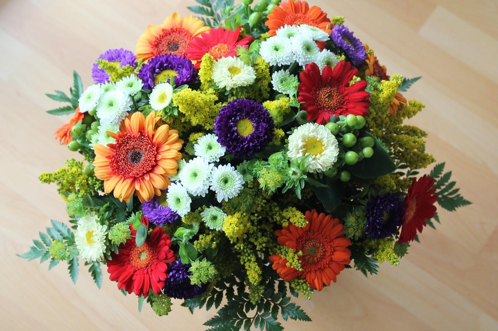 Blumenstrauss bunt