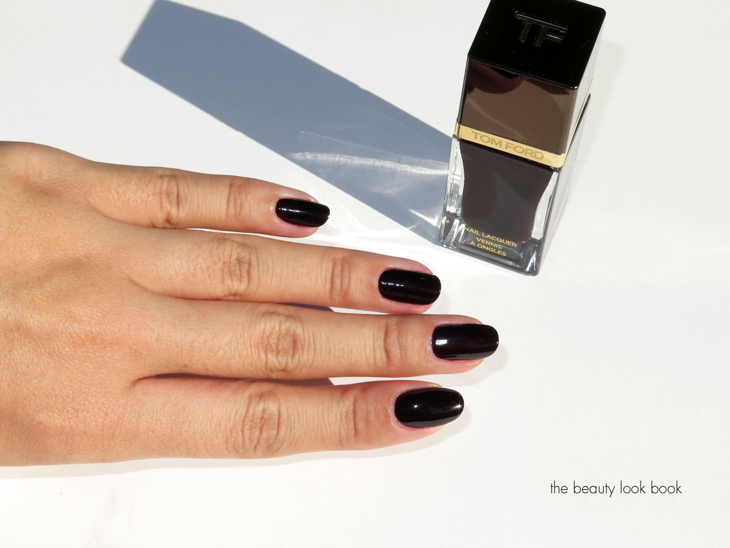 Tom Ford Beauty Black Cherry Nail Lacquer | Fall 2014 | The Beauty ...