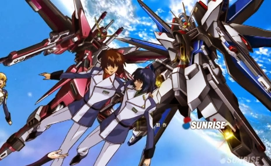 Gundam Seed By SunRise