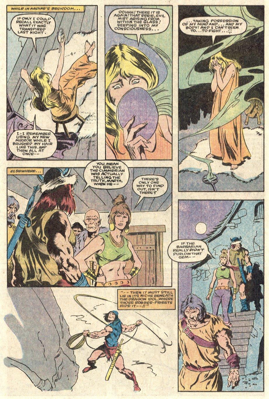 Conan the Barbarian (1970) Issue #165 #177 - English 14