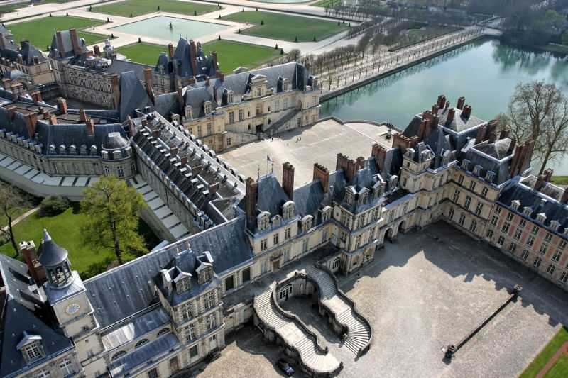 Fontainebleau France  city photo : Il castello di Fontainebleau è veramente immenso e la sua maestosità