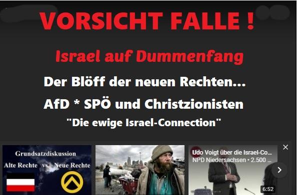 VORSICHT FALLE ! Link zur Webseite