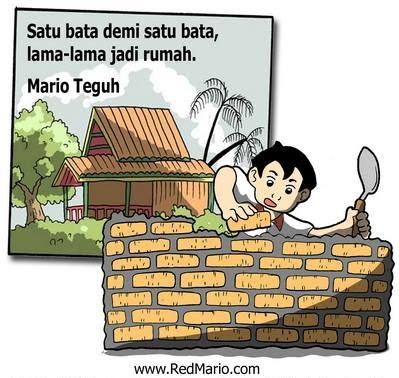 Mario Teguh : Satu demi Satu Bata, Lama-lama Jadi Rumah