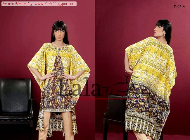 Latest Designs of Lala Turkish Linen Dresses