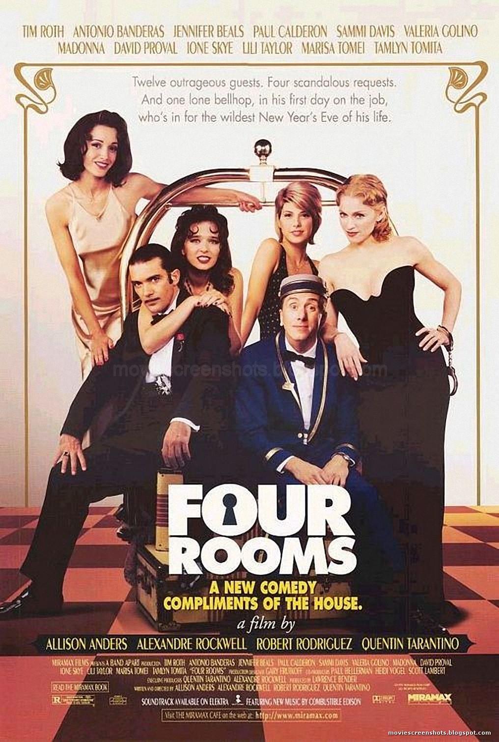 Vagebond's Movie ScreenShots: Four Rooms (1995)