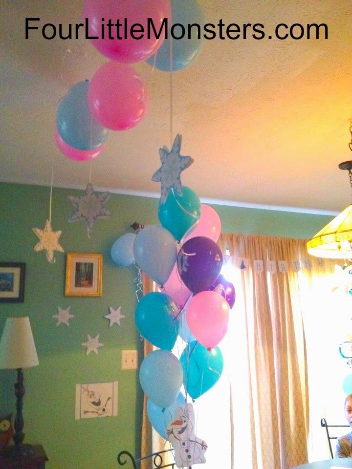 Winter Wonderland Frozen Queen Elsa Themed Birthday Party Ideas