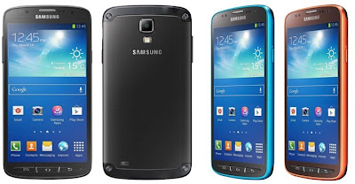 Samsung Galaxy S4 Active in different colors