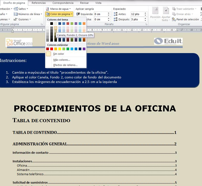 Tecnologias de la información y la comunicación : EJERCICIO PRÁCTICO ...