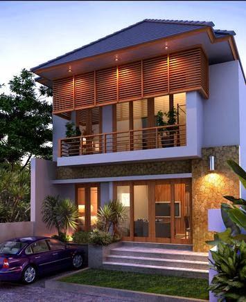 contoh desain rumah minimalis modern elegan ~ kumpulan