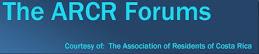 ARCR Forums