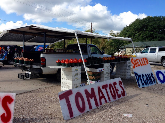 Roadside Fruit Stand-Liberty, Texas