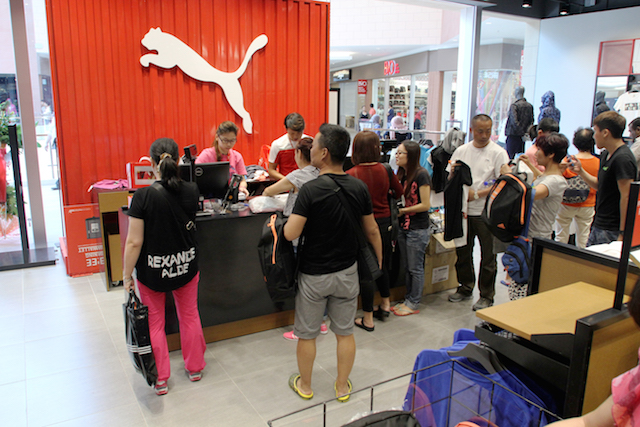 PUMA Opens New Store At Mitsui Outlet Park Sepang