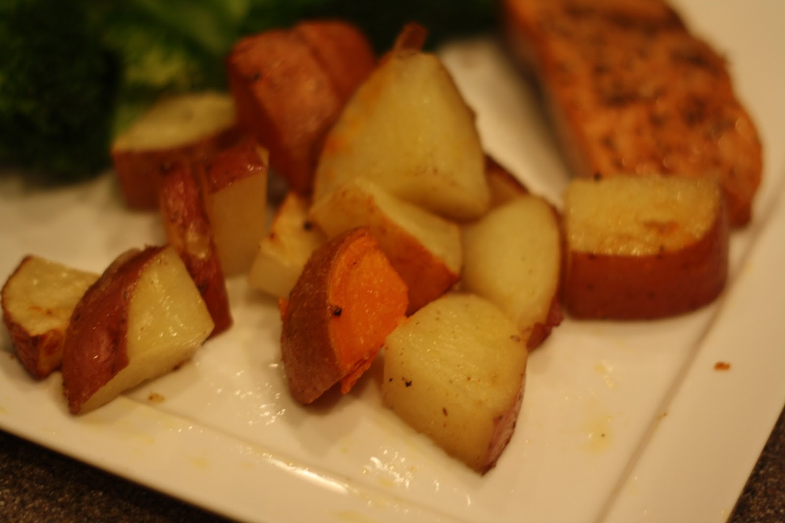 The Food Gospel According to Ruth: Easy Oven Roasted New Potatoes