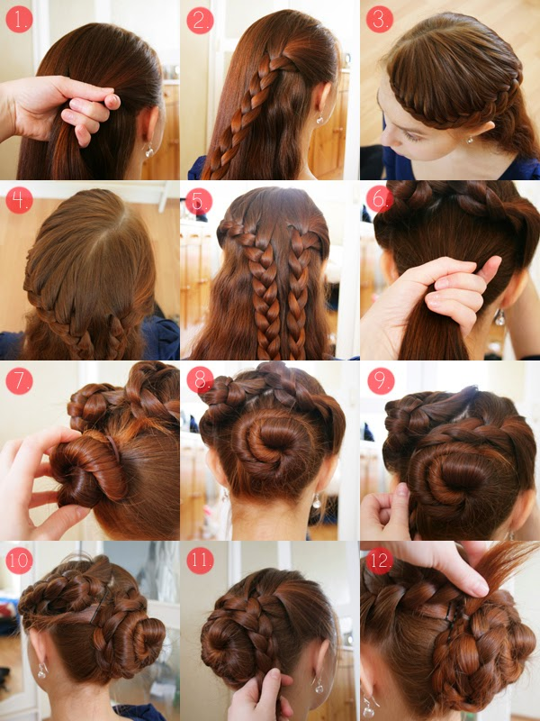 Look like a model tutorial hairstyle come fare - Diversi tipi di trecce ...
