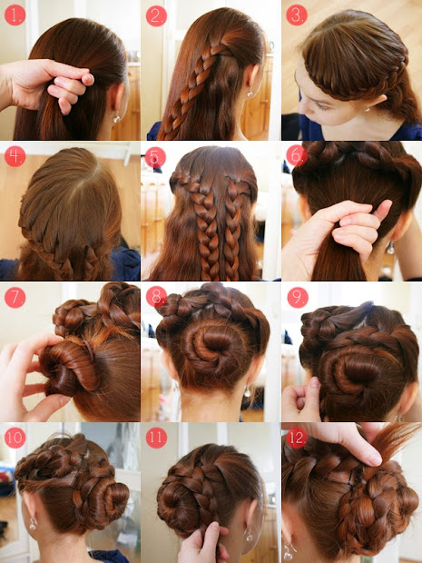 model tutorial hairstyle